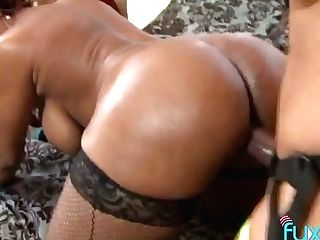 Two Mega Bootyful Black Whores Can't Stop Fucking Each Others...
