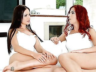 Charming Stunner Sasha Rose Gives And Interview To One...