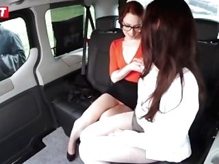 Perverted Teenagers Get All Raw In The Cab Cab